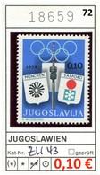 Jugoslawien - Yougoslavie - Jugoslavija - Michel Zw 43 - ** Mnh Neuf Postfris - - 1945-1992 Sozialistische Föderative Republik Jugoslawien