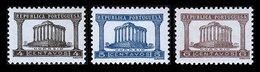 PORTUGAL, AF 565/67, Yv 576/78, (*) MNG, F/VF - 1910-... République