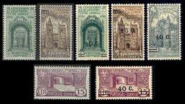 PORTUGAL, Discount Sale, AF 531/3, 554/6, 558: Yv 547/9, 565/7, 569, (*)/* MNG/MLH, F/VF, Cat. € 28,00 - 1910-... Republiek