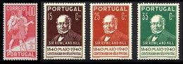 PORTUGAL, Discount Sale, AF 578, 599/601: Yv 587, 600/02, (*)/* MNG/MLH, F/VF - 1910-... République