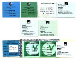 PORTUGAL, Discount Sale, Vehicular Insurance/Inspection, F/VF - Fiscaux