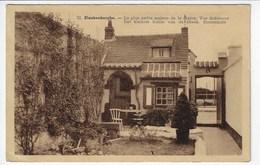 BELGIQUE - BLANKENBERGHE - La Plus Petite Maison De La Région - Vue Intérieure - 1933 (Y153) - Blankenberge