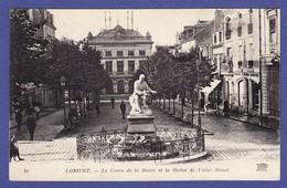 LORIENT COURS DE LA BOVE COMMERCE HORLOGERIE BIJOUTERIE ( écrite 1925 TTB ETAT) Mi1780) - Lorient