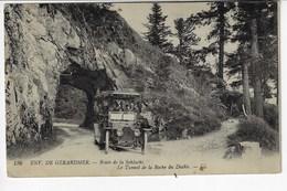 88 - Env De GÉRARDMER - Route De La Schlucht - Le Tunnel Du Pont Du Diable - Animée + Tacot  (Y161) - Gerardmer