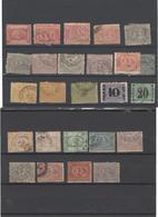 Egitto ,25 Pezzi Usati ,tra I Nr.8 E 21 ,qualita In Genere Ottima - Egitto