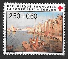 FRANCE 2733 Croix-Rouge Port De Toulon D'après François Nardi . - France