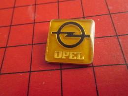 918c Pin's Pins / De Belle Qualité Et Rare / THEME AUTOMOBILE : LOGO DE LA MARQUE OPEL - Opel