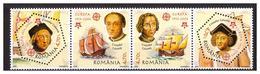 ROMANIA 2005 EUROPA/SHIPS/COLUMBUS Set MNH - 1948-.... Républiques