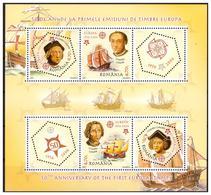 ROMANIA 2005 EUROPA/SHIPS/COLUMBUS Souvenir Sheet MNH - 1948-.... Républiques