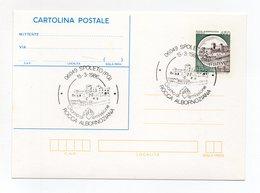 Italia - 1986 - Cartolina Postale  - Spoleto (PG) - Rocca Albornoziana - Doppio Annullo Spoleto - (FDC14932) - Stamped Stationery