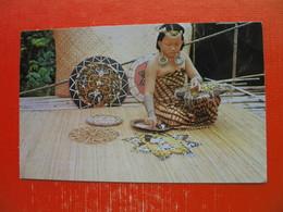 A Kayan Girl(beading),Sarawak - Malaysia