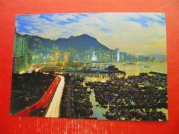 Beautiful Dusk Scene Of Victoria - Cina (Hong Kong)