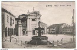 VITTORIO:  PIAZZA  DUOMO  CENEDA  -  FP - Treviso