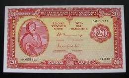 Ireland 20 Pounds 1976 - Ierland