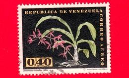VENEZUELA - Usato - 1962 - Fiori - Orchidee - Catasetum Callosum - 0.40 - P. Aerea - Venezuela