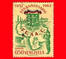 VENEZUELA - Usato - 1963 - 25 Anniversario Della Guardia Nazionale - FF.AA.C. - 0.50 - Venezuela
