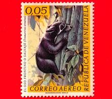 Nuovo - MH - VENEZUELA - 1963 - Fauna - Animali - Orso - Bear - Tremarctos Ornatus - 0.05 - Venezuela