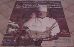 AFFICHE CINEMA ORIGINALE FILM LES 1001 RECETTES DU CUISINIER AMOUREUX Pierre RICHARD 1997 TBE CUISINE - Affiches & Posters