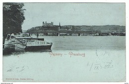 POZSNY - BRATISLAVA - PRESSBURG:  BLICK  -  NACH  OSTERREICH  -  KLEINFORMAT - Slovacchia