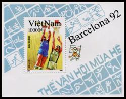 Vietnam 1992  YT BF 72 ; Mi# Block 96  (*) MNG - Vietnam