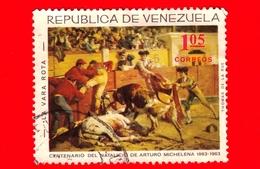 VENEZUELA - Usato - 1966 - Centenario Della Nascita Di Arturo Michelena - 'La Vara Rota' - 1.05 - Venezuela