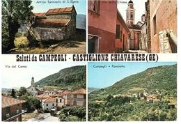 SALUTI DA CAMPEGLI CASTIGLIONE CHIAVARESE - Souvenir De...