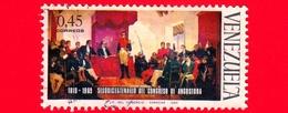 VENEZUELA - Usato - 1969 - 150 Anni Del Congresso Di Angostura - 0.45 - Venezuela