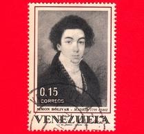 VENEZUELA - Usato - 1969 - Simón Bolívar In Spagna - Dipinto - 0.15 - Venezuela
