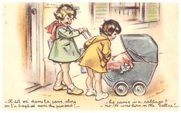"""GERMAINE BOURET -""""IL EST NE DANS LA CAVE ALORS ON L'A BAPTISE AVEC DU PINARD!...""""  MD7  PARIS - Bouret, Germaine"""
