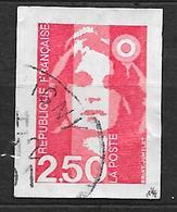 FRANCE  2720  Marianne De Briat 2.50 Rouge Autoadhésif 3 . - France