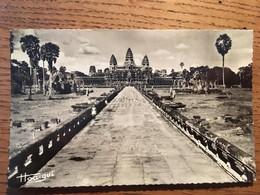 CPA, Cambodge, Angkor-Vat, Vue Générale - Cambogia