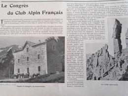 1899 CONGRÈS DU CLUB ALPIN FRANÇAIS - LES PYRÉNÉES ORIENTALES - CANIGOU - Journaux - Quotidiens