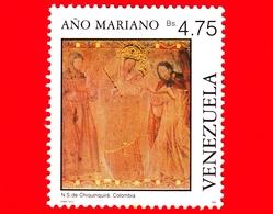 VENEZUELA - Usato - 1988 - Anno Mariano - N.S. Di Chiquinquirá, Colombia - 4.75 - Venezuela