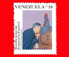 VENEZUELA - Usato - 1992 - Beatificazione Di Jose Maria Escriva - 18 - Venezuela