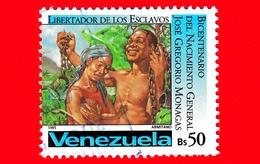 VENEZUELA - Usato - 1995 - 200 Anni Della Nascita Di Jose Gregorio Monagas, Liberatore Degli Schiavi - 50 - Venezuela