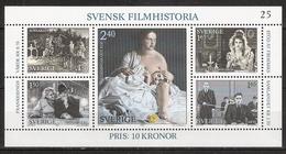 Sweden Sverige 1981 Swedish Film History Mi Bloc 9, MNH(**)   No Can Be Different - Suède