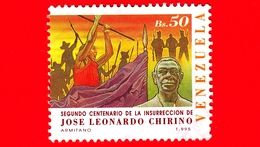 VENEZUELA - Usato - 1995 - 200 Anni Dell'insurrezione  Di José Leonardo Chirinos - 50 - Venezuela