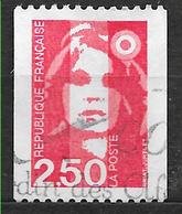FRANCE  2719 Marianne De Briat Roulette Rouge . - France