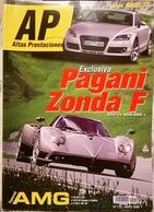 CA003 Autozeitschrift AP Altas Prestaciones, Nr. 115, 2006, Spanish, Pagani Zonda F - Magazines & Newspapers