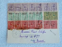 Enveloppe MARCOPHILIE Annee 1931 Par Avion - Briefe U. Dokumente