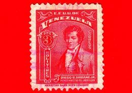 VENEZUELA - Usato - 1940 - Diego B. Urbaneja - 3 - Venezuela