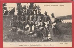 CPA: Côte D'Ivoire - Cercle De Gaoua - Danseurs Lobis - Elfenbeinküste