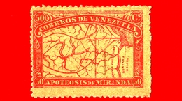 Nuovo - MH - VENEZUELA - 1896 - Anniversario Della Morte Di Francisco De Miranda - 50 - Venezuela