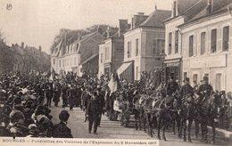 2685 Cpa 18 Bourges - Funérailles Des Victimes De L'Explosion Du 02 Novembre 1907 - Bourges
