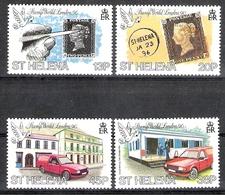 St Helena 1990 Stamp World London 90 MNH  CV £4.10 - Saint Helena Island