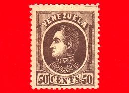 Nuovo - MH - VENEZUELA - 1880 - Effige Di Simón Bolívar - 50 - Venezuela