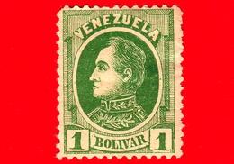 Nuovo - MH - VENEZUELA - 1880 - Effige Di Simón Bolívar - 1 - Venezuela