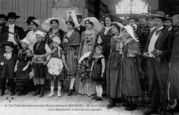 2694 Cpa 18 Bourges -  Les Trois Grandes Journées Régionalistes, Reines Du Limousin, Normandie Et Alsace Lorraine - Bourges
