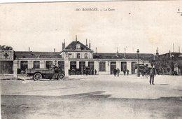 2699 Cpa 18 Bourges -  La Gare - Bourges