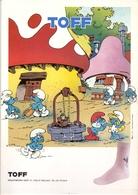 Pub Reclame - Kousen Toff - Sint Niklaas - Smurfen - Smurfs - Peyo - Publicités